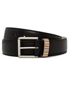 Paul Smith Multistripe Keeper Belt