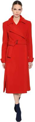 Sportmax Wool Coat With Belt