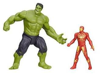 Marvel Avengers Age of Ultron Savage Hulk vs. Ultron Hunter Iron Man