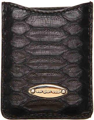Sergio Rossi Leather Travel Mirror - Unisex