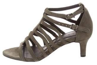 Anine Bing Multistrap Suede Sandals