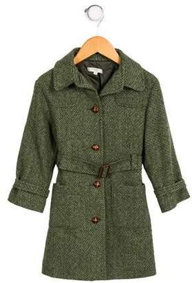 Caramel Baby & Child Girls' Wool Coat