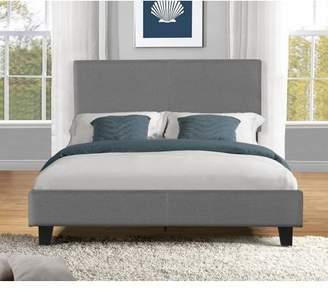 US Pride Furniture US Pride Platform Bed With Headboard