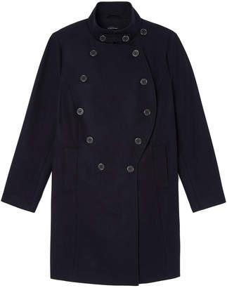 Goop X Universal Standard x Universal Standard Wool Peacoat Jacket