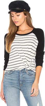 Nation LTD Prince Baseball Tee in Black & White $96 thestylecure.com