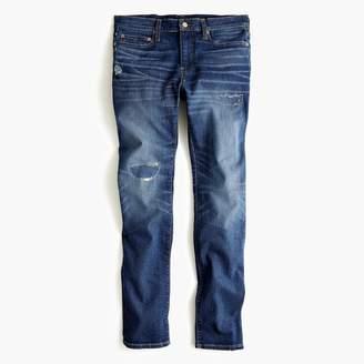 J.Crew 484 Slim-fit stretch rip and repair jean in Cone denim