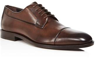Canali Stock Cap Toe Derby Shoes