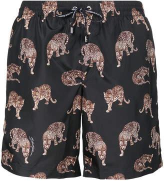 Dolce & Gabbana Tiger print swim shorts