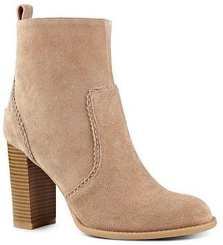 Women's Nine West 'Quicksand' Block Heel Bootie $139.95 thestylecure.com
