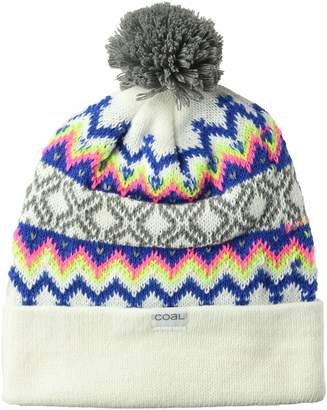 Coal Men's The Winters Fine Knit Nordic Beanie Hat Pom