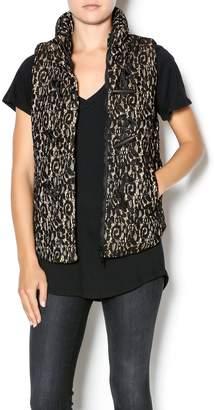 Luce C. Lace Puffy Vest