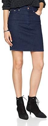 Won Hundred Women's ELSA_A Pencil Plain Dress,6 (Manufacturer Size: 34)