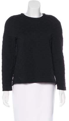 Golden Goose Textured Long Sleeve Top