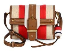 Tory Burch Tory Burch Canvas & Leather Crossbody Bag