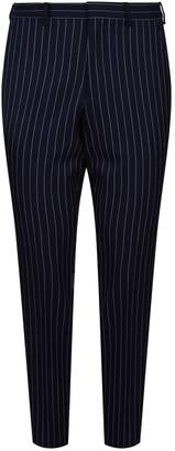 Burberry Wool Pinstripe Trousers