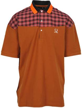 Raf Simons Fred Perry By Fred Perry Check Piquet Over