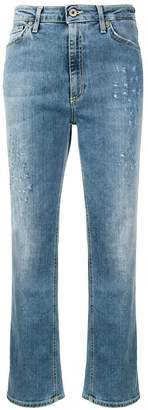 Dondup cropped distressed jeans