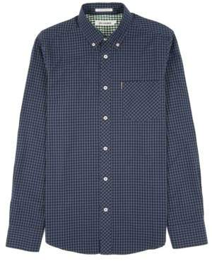 Ben Sherman Gingham Plaid Button-Down Cotton Shirt