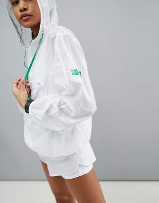 Asos 4505 Running Jacket In Sheer Reinforced Fabric