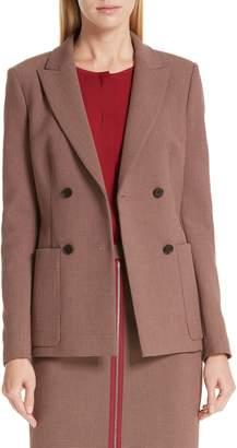 BOSS Joliviena Check Suit Jacket