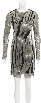 Rachel Roy Long Sleeve Embellished Dress $125 thestylecure.com