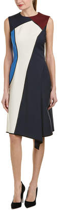 Escada Wool-Blend A-Line Dress