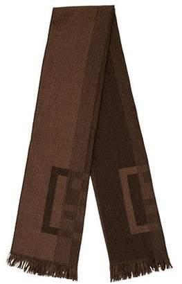 Fendi Zucca Wool Scarf