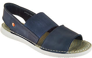 Fly London Softinos by Leather Slip-on Sandals- Tai