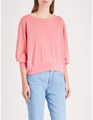 Stateside Slub cotton-jersey T-shirt