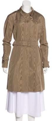 Prada Silk Knee-Length Coat