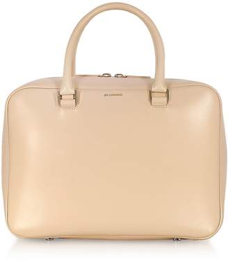 Jil Sander J-vision Small Leather Satchel Bag