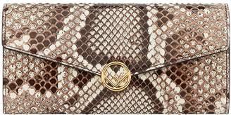 Fendi (フェンディ) - Fendi snake continental chain wallet