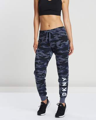DKNY Camo Print Slim Fit Jogger Pants