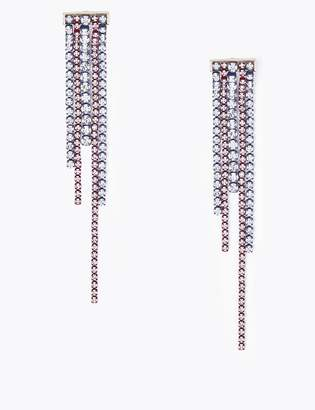 Marks and Spencer Crystal Drape Drop Earrings
