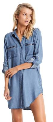 Seafolly Embroidered Beach Shirt