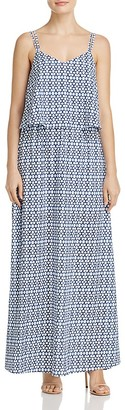 BB Dakota Overlay Printed Maxi Dress - 100% Exclusive $82 thestylecure.com