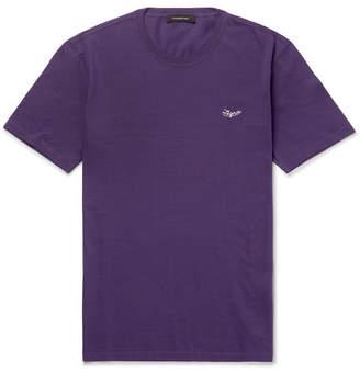 Ermenegildo Zegna Cotton-Jersey T-Shirt - Men - Purple