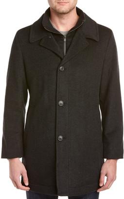 Hart Schaffner Marx Macbeth Wool-Blend Coat