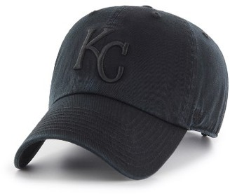 Women's '47 Clean Up Kansas City Royals Baseball Cap - Black $25 thestylecure.com