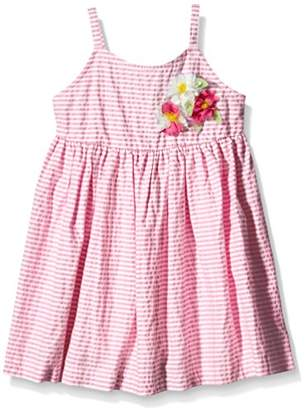 Benetton Girl's 4R4ZLV360 Dress,(Manufacturer Size:12-18 Months)
