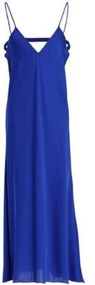 Ellery Cutout Satin Midi Dress