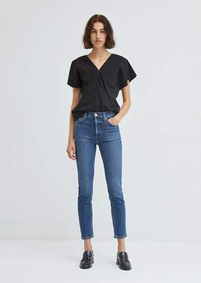 RE/DONE Stretch Ankle Crop Skinny Jeans