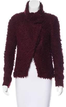 IRO Long Sleeve Knit Jacket