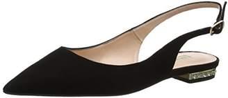 Dune Women's Brey Sling Back Sandals, (Black), 39 EU