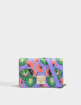 Furla Metropolis Small Shoulder Bag in Giglio Ares Leather
