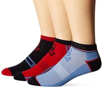 Psycho Bunny Men's 3 Pack Low Cut Socks