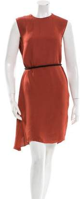 Lanvin Draped Sleeveless Dress w/ Tags