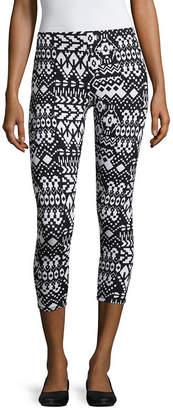 MIXIT Mixit Print Knit Capri Leggings