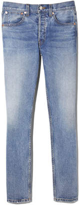 RE/DONE Ultra High Rise Skinny Jeans in Medium Dusty, Size 26