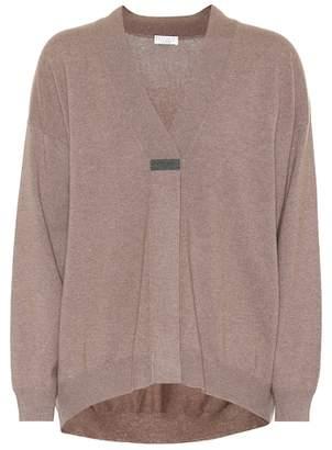 Brunello Cucinelli Cashmere dropped-shoulder sweater